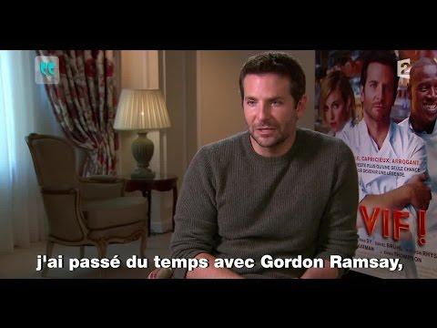 Quand Bradley Cooper parle cuisine...En français ! #touteunehistoire