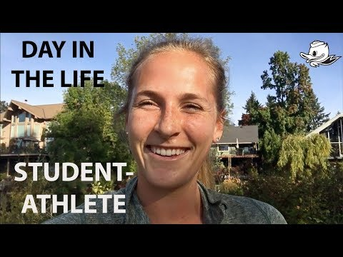 DAY IN THE LIFE | Oregon Student-Athlete