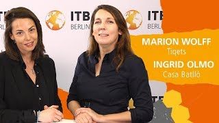 "ITB eTravel Lab 2019: Marion Wolf and  Ingrid de Olmo about ""Distribution Strategies"""