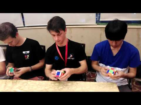 [Moyu Party] 5x5 Cube Race:Lin, Yuelin, Antoine, Mats, Feliks, Yu @China Championship
