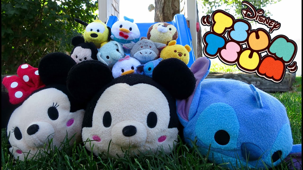 TSUM TSUM Disney (Parody) With Mickey Mouse, Donald Duc