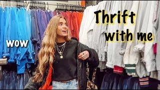 Thrift with me. BEST stores in London☆I got told off in every store oop ☆