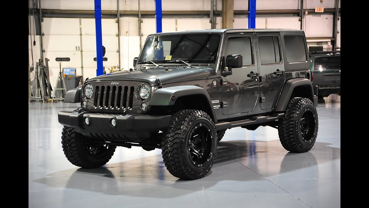 davis autosports 2014 jeep wrangler unlimited sport jk lifted for