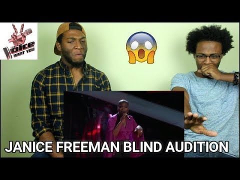The Voice 2017 Blind Audition - Janice Freeman: