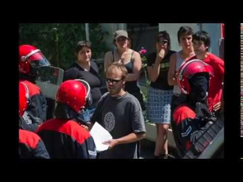 AHT epaiketa eta kontzentrazioa Donostian 2018-07-25. 2010eko Itsasondoko meategietako ekintzagatik