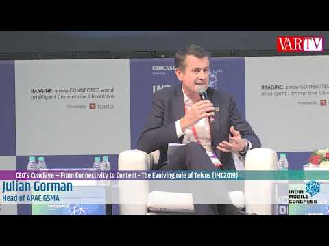 Julian Gorman - Head of APAC, GSMA at India Mobile Congress 2019