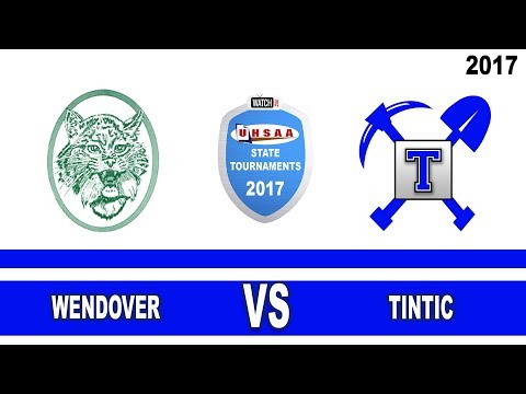 1A Volleyball: Wendover vs Tintic High School UHSAA 2017 Sta