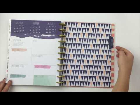 2017 BIG Happy Planner™ - Tranquility