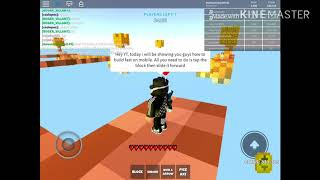 How to build extremely fast on mobile (ROBLOX SKYWARS + FFA)