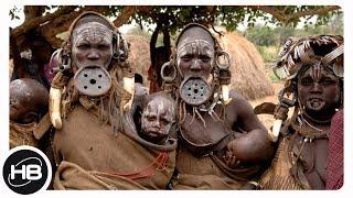 10 самых диких и малочисленных племён...