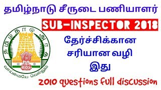 TN SI 2018 Psychology | 2010 previous year question discussion by iGriv IAS Academy