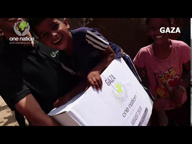 Food Parcels Distribution In Gaza ~ August 2020