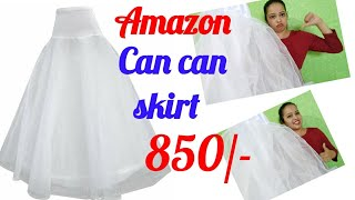 Amazon can can skirt | can can skirt unboxing