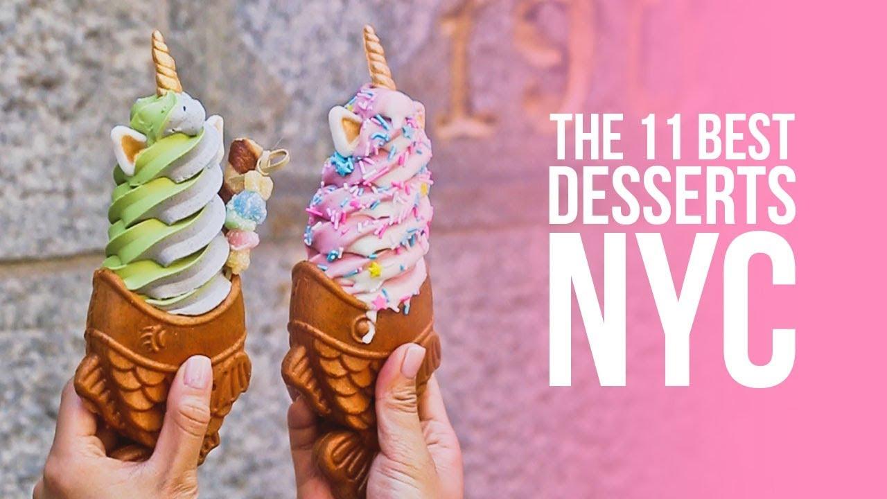 11 Best Dessert Places in NYC! | #LocalAdventurer