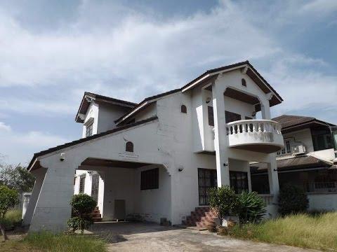 บ้านเช่าราคาถูกมาก ร่มเกล้า-มีนบุรี กว้างขวาง 200 วา ใกล้สนามบินสุวรรณภูมิ