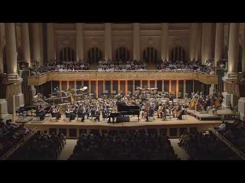 Mozart: Piano Concerto No.22 in E flat major, 1st mov - David Fray, Marin Alsop (Full HD 1080p)