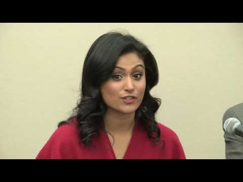 Nina Davuluri Speaks at Indiaspora Press Conference