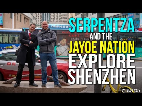 SERPENTZA and JAYOE NATION EXPLORE SHENZHEN