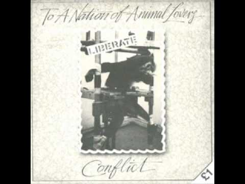 Conflict - To A Nation Of Animal Lovers (FULL EP)
