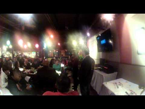 """Sensei Sara """"Eagle Woman"""" Urquidez talks at the """"Jet Center"""" 20th Reunion"""