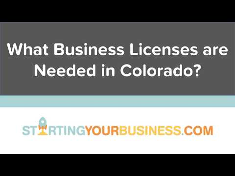 What Business Licenses are Needed in Colorado - Starting a Business in Colorado