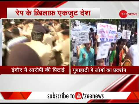 Indore: Man accused of raping infant thrashed outside court