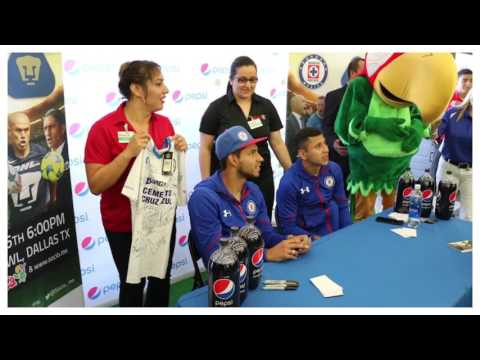 PEPSI - SOCIOMX CUP 2017 - MEET & GREET - FIESTA SUPERMARKET - DALLAS TEXAS MARCH 25 2017