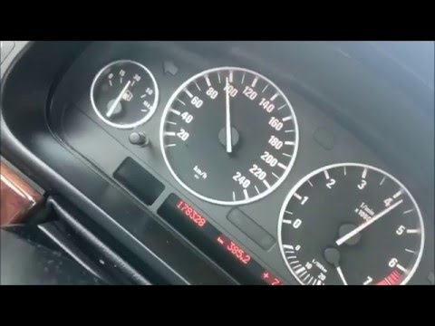 BMW 525i e39 192hp acceleration 60-200km/h