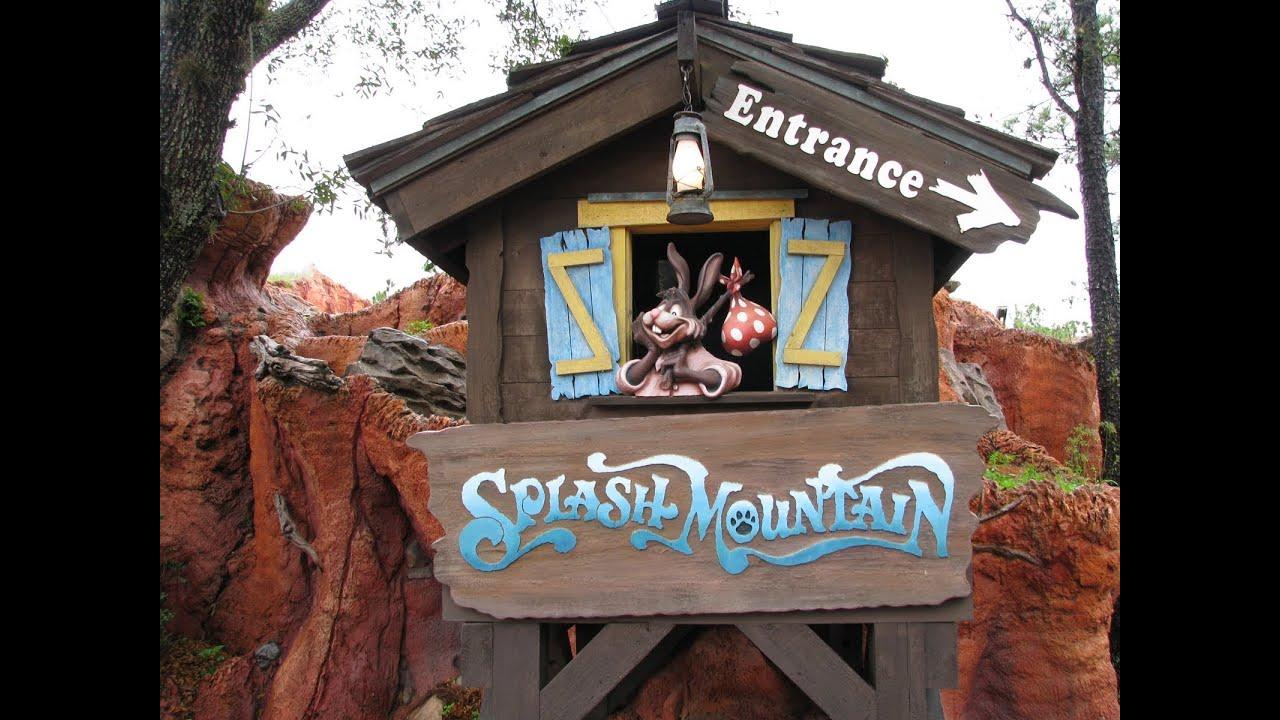 Splash Mountain Front Seat On-Ride POV Disney World's ...