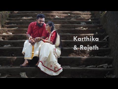 Simple Kerala Engagement Video In 4K   Karthika & Rejat   Nikon Z6 + Weebill S