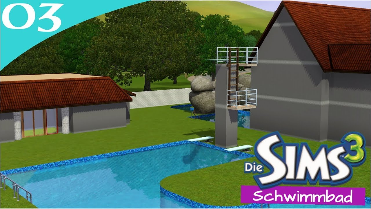 Hausbau Reihe 6 03: Schwimmbad [Letu0027s Build Sims 3 Haus]