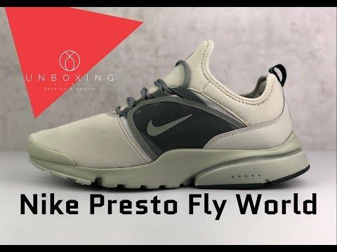 Nike Presto Fly World 'Spruce fog