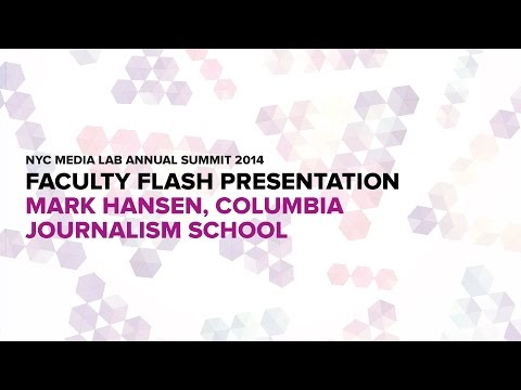 Innovating Journalism: Columbia's Mark Hansen