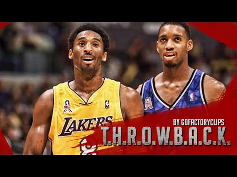 Throwback: Kobe Bryant vs Tracy McGrady Full Duel Highlights 2001.11.11 Lakers vs Magic - SICK!