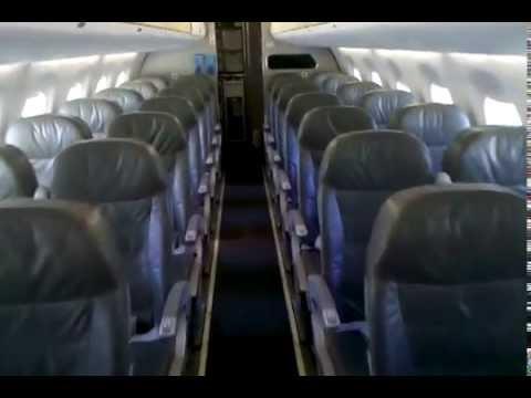 Jetblue E190 Cabin walkthrough