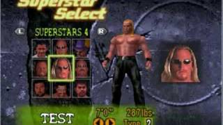 WWF No Mercy Characters