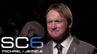 Jon Gruden sits down for exclusive interview after becoming Raiders head coach | SC6 | ESPN