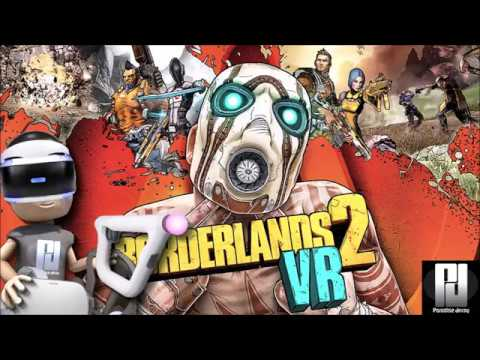 Borderlands 2 VR Gameplay with PlayStation 4 AIM Controller // PSVR // PlayStation 4 // PS4 Pro