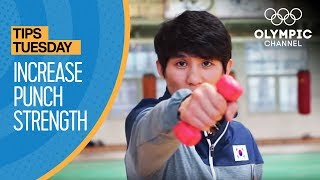 How to increase your Punch Strength in Boxing ft. Lee Ok-Sung | Olympians