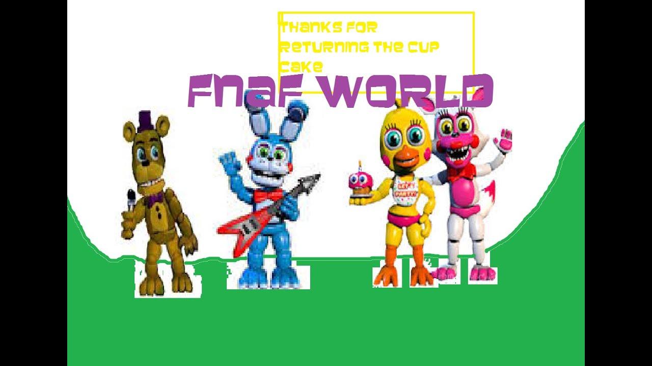 Fnaf world demo part 2 youtube