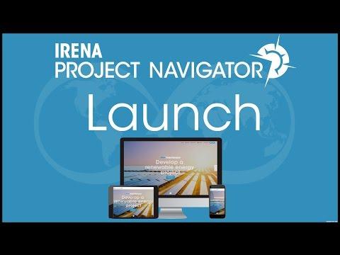 IRENA Project Navigator Webinar: Platform launch