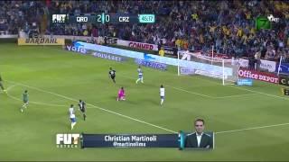 Queretaro vs Cruz Azul 4   2 Jornada 6 Apertura 2015