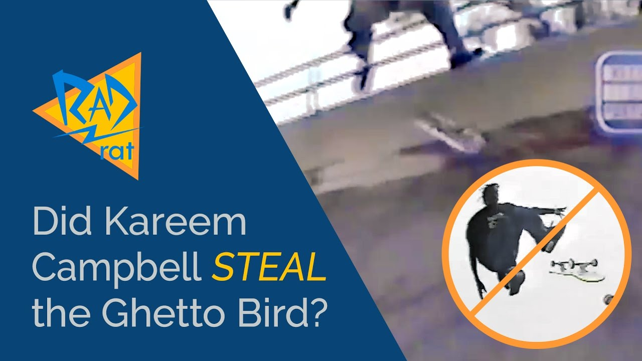 Did Kareem Campbell Steal The Ghetto Bird Youtube