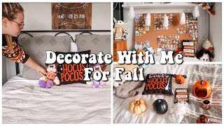 Decorate With Me For Fall  Day in my Life  Magically Katelyn