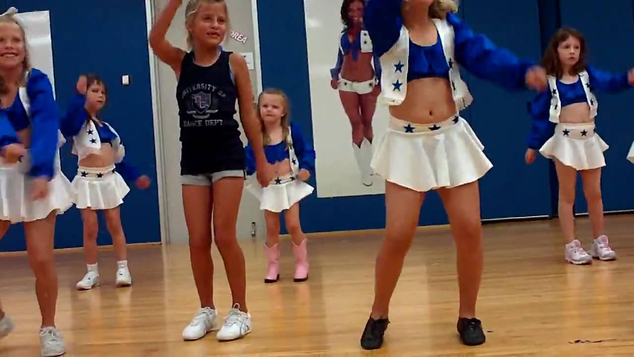 McKenzie at Dallas Cowboys Cheer Camp First Dance Routine - YouTube 5f0c2e744