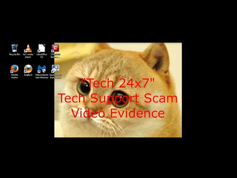 """Tech 24x7"" Tech Support Scam 