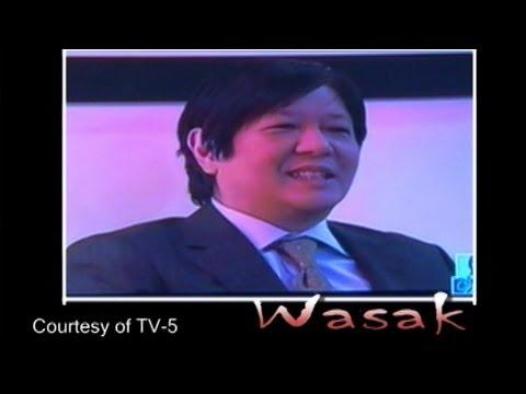 Sen. Bongbong Marcos - Courtesy of TV 5 -...