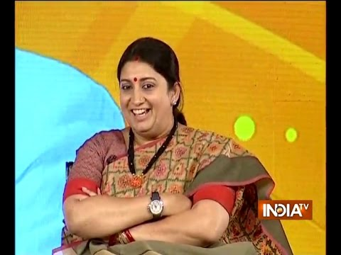 IndiaTV Samvaad: Smriti Irani speaks over triple talaq issue