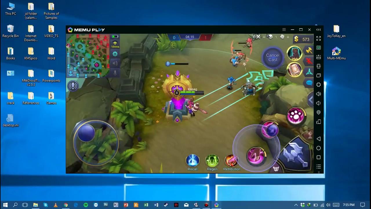 tutorial mobile legends on pc controller aim skills
