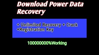 How To Download Power Data Recovery 7.0 With Crack